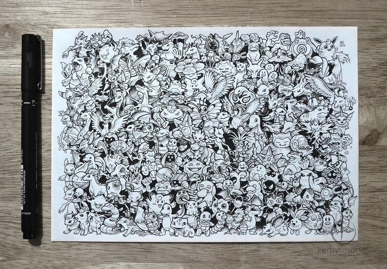 Керби Росанес. Рисунки и иллюстрации
