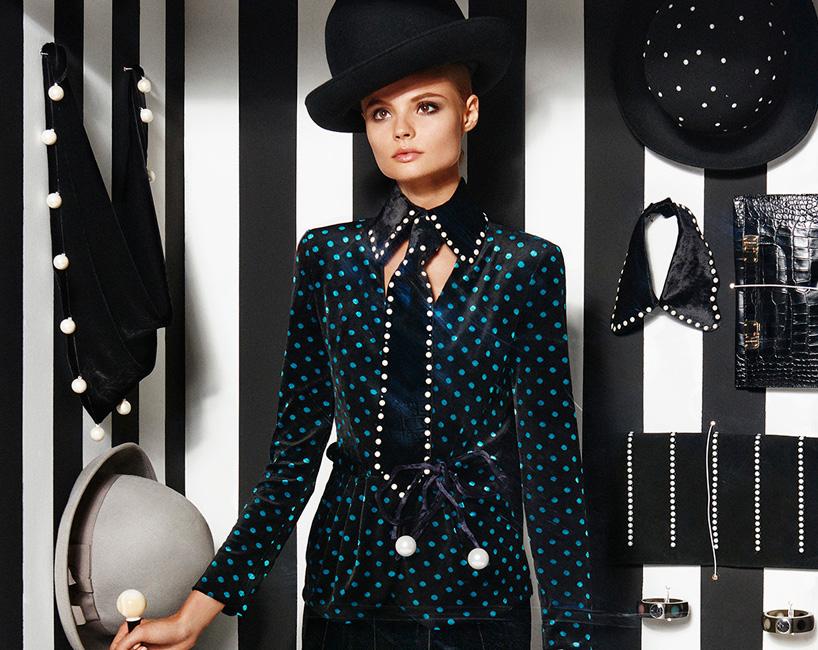 Модели в журнале Vogue Paris. Фото № 18