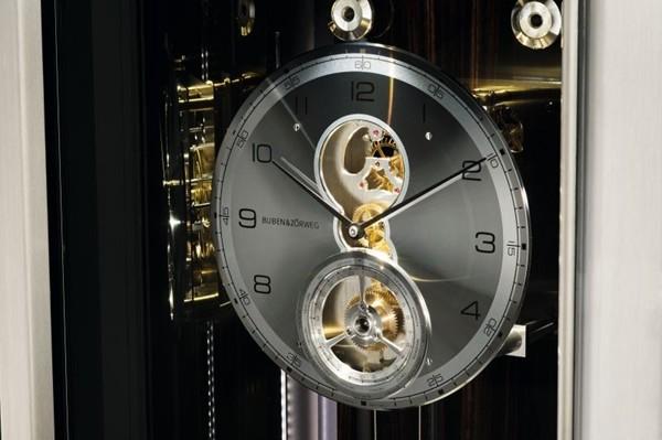Напольные часы Buben&Zorweg с сейфом_2