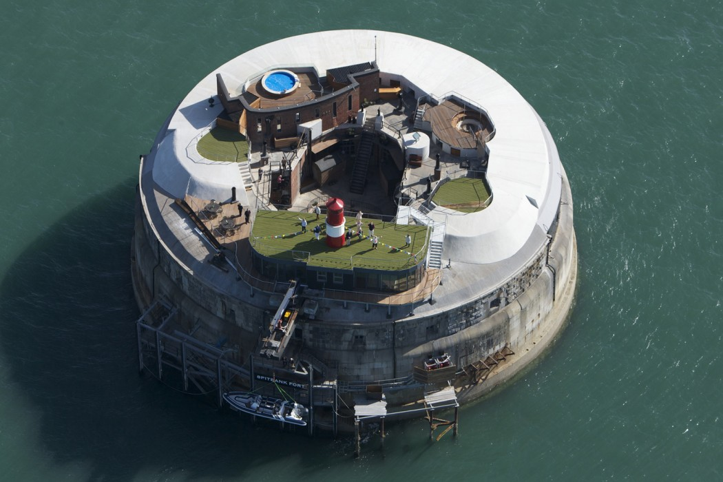 Острова Великобритании. Форт Спитбэнк. Фото № 1
