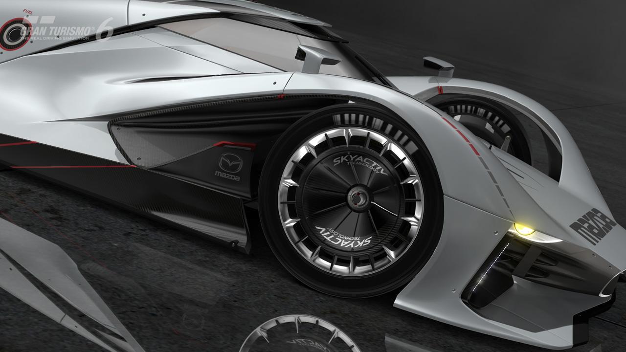 Первые фотографии Mazda LM55 Vision Gran Turismo. Фото № 13