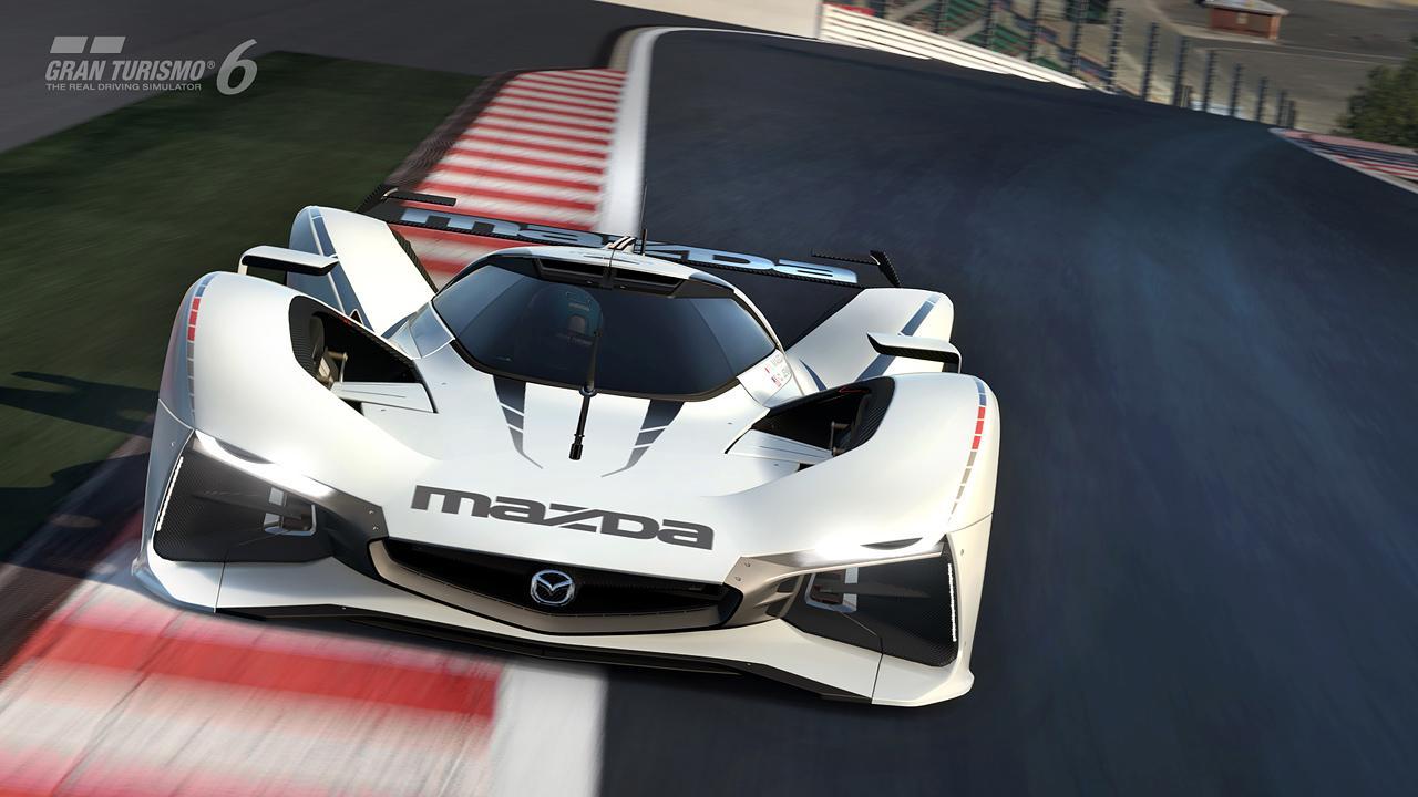 Первые фотографии Mazda LM55 Vision Gran Turismo. Фото № 5