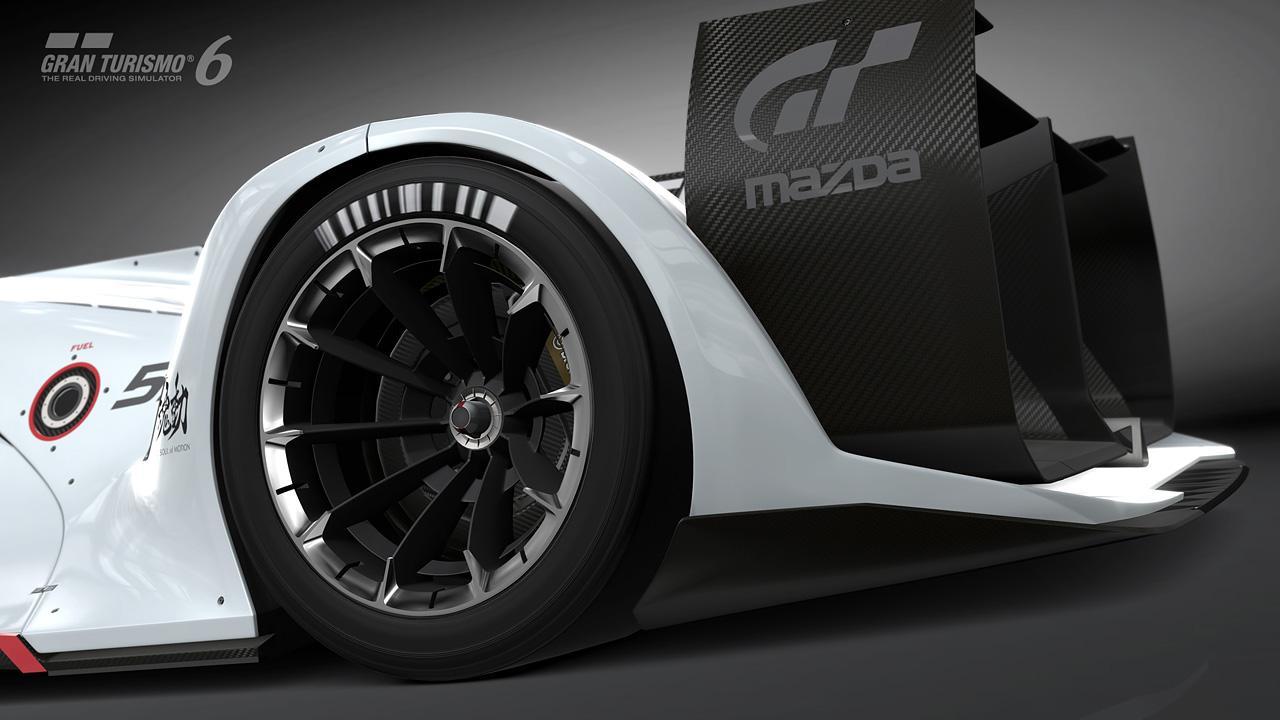 Первые фотографии Mazda LM55 Vision Gran Turismo. Фото № 6