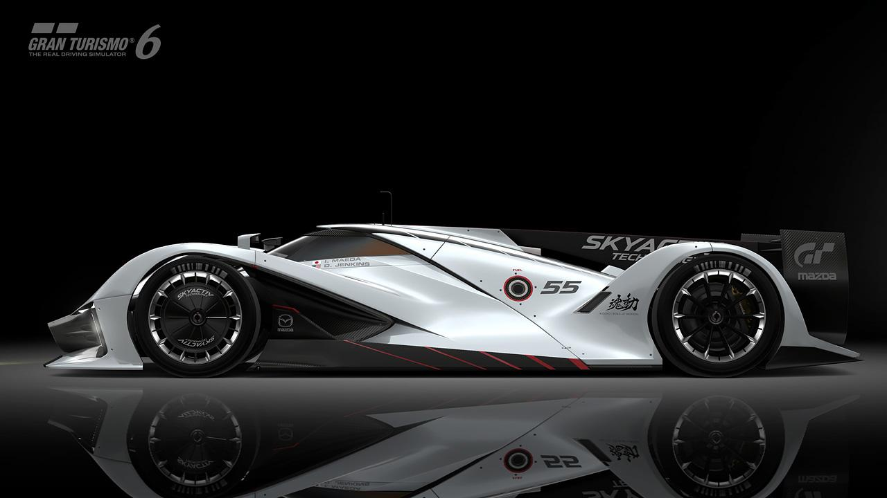 Первые фотографии Mazda LM55 Vision Gran Turismo. Фото № 8