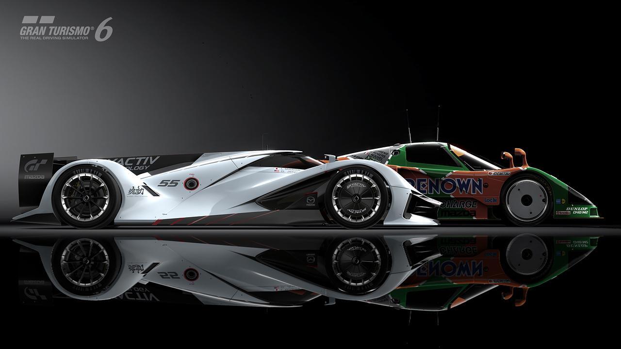 Первые фотографии Mazda LM55 Vision Gran Turismo. Фото № 9