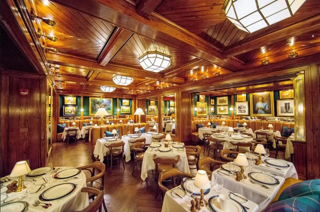 Ресторан Ральфа Лорнеа в Нью-Йорке. Фото № 1