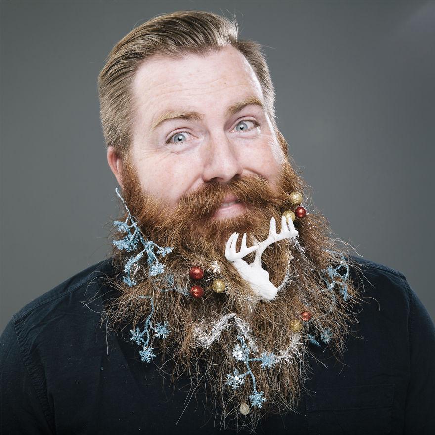 Рождество, борода, праздник
