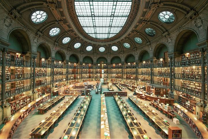 Самые красивые библиотеки мира. Фото № 1