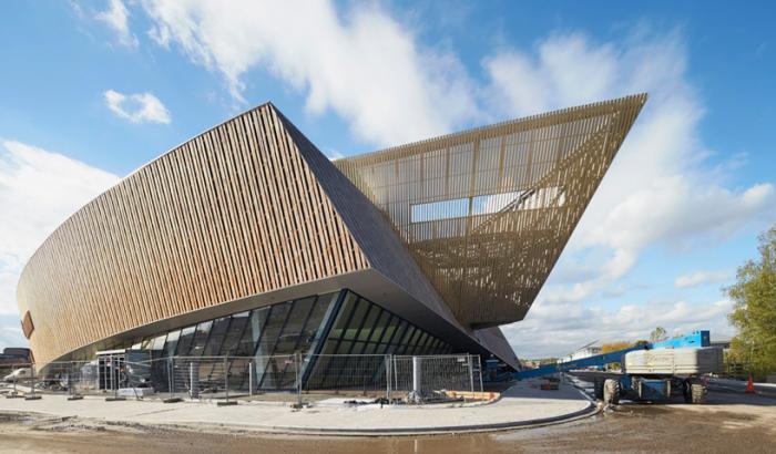 Современная архитектура. Конференц-центр в Монсе, Бельгия