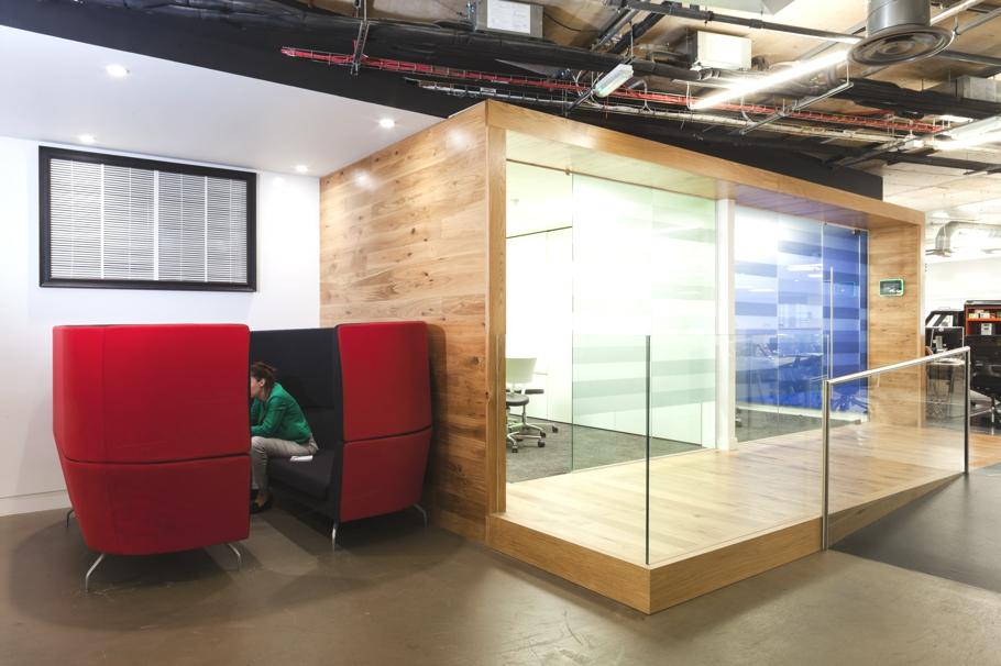 Современный дизайн офиса. Фото № 7