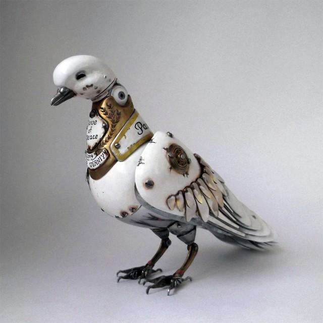 Стимпанк культура. Птицы. Фото_01