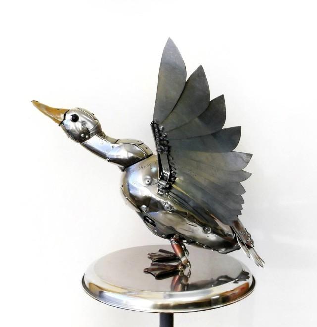 Стимпанк культура. Птицы. Фото_09
