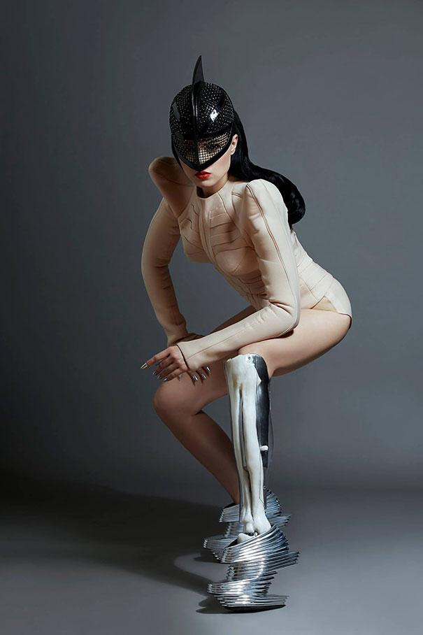 Виктория Модеста с ампутированной ногой. Фото № 2