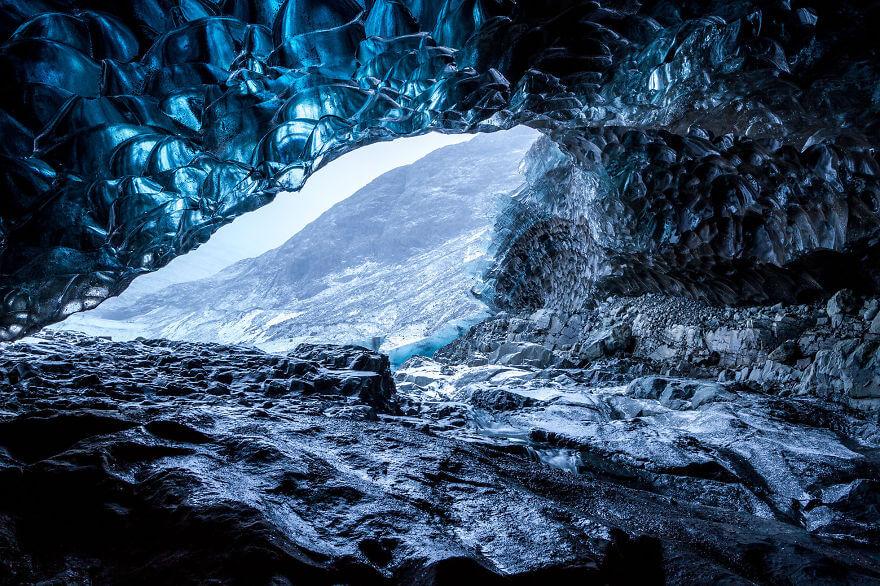 Ледяная пещера в Исландии. Фото № 8