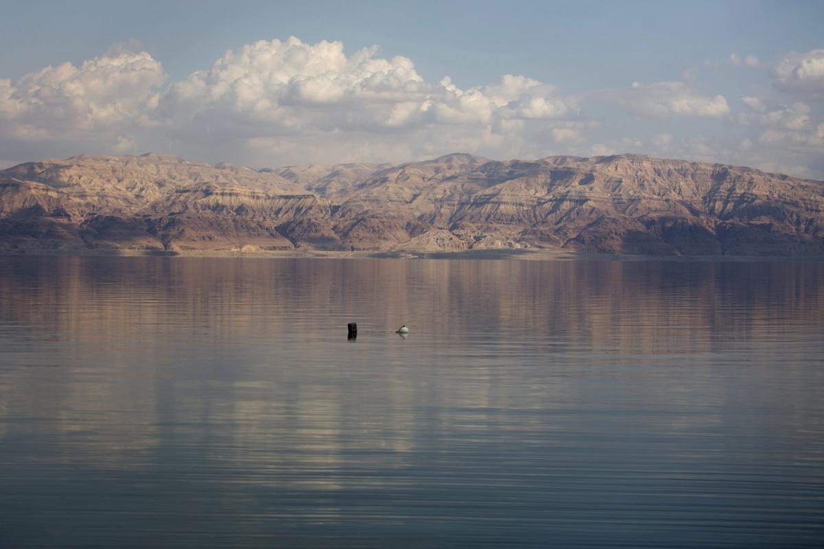 Мертвое море. Израиль. Фото № 1