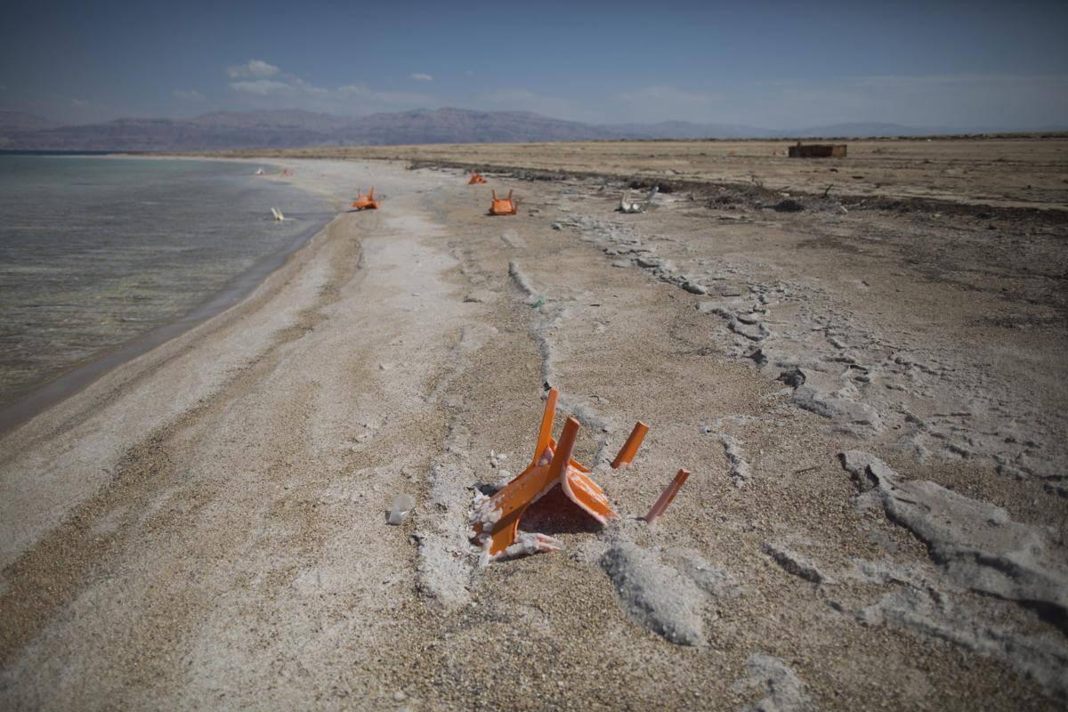 Мертвое море. Израиль. Фото № 11
