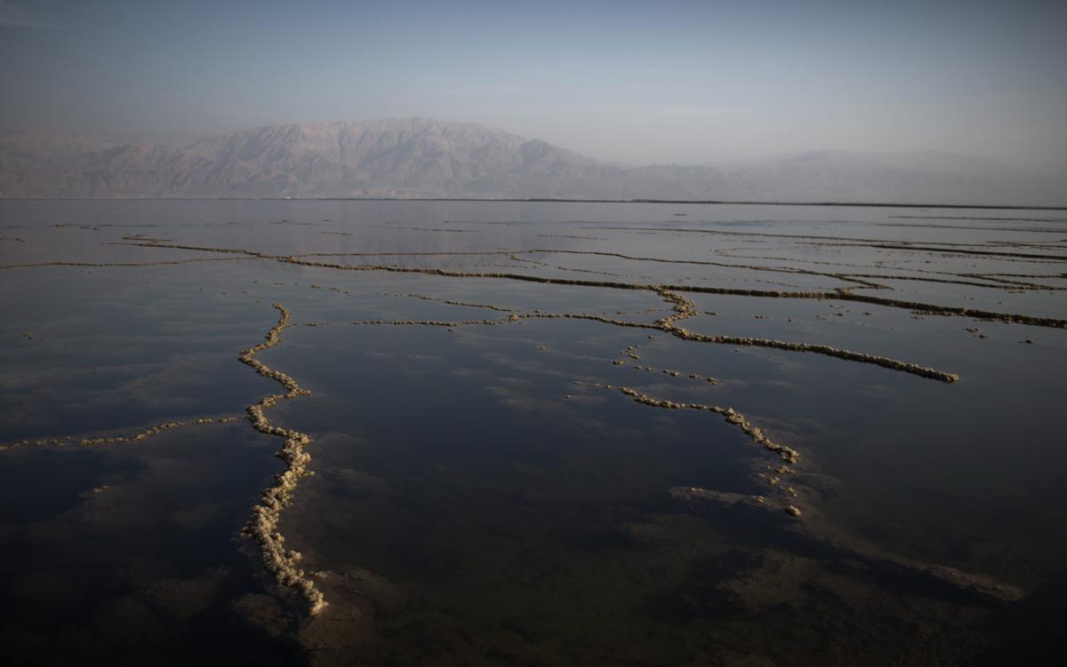 Мертвое море. Израиль. Фото № 13