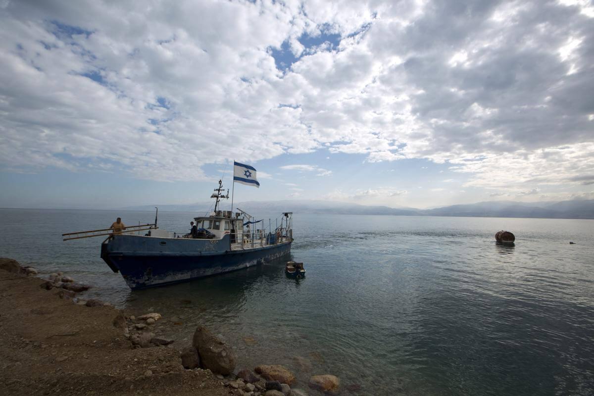 Мертвое море. Израиль. Фото № 2