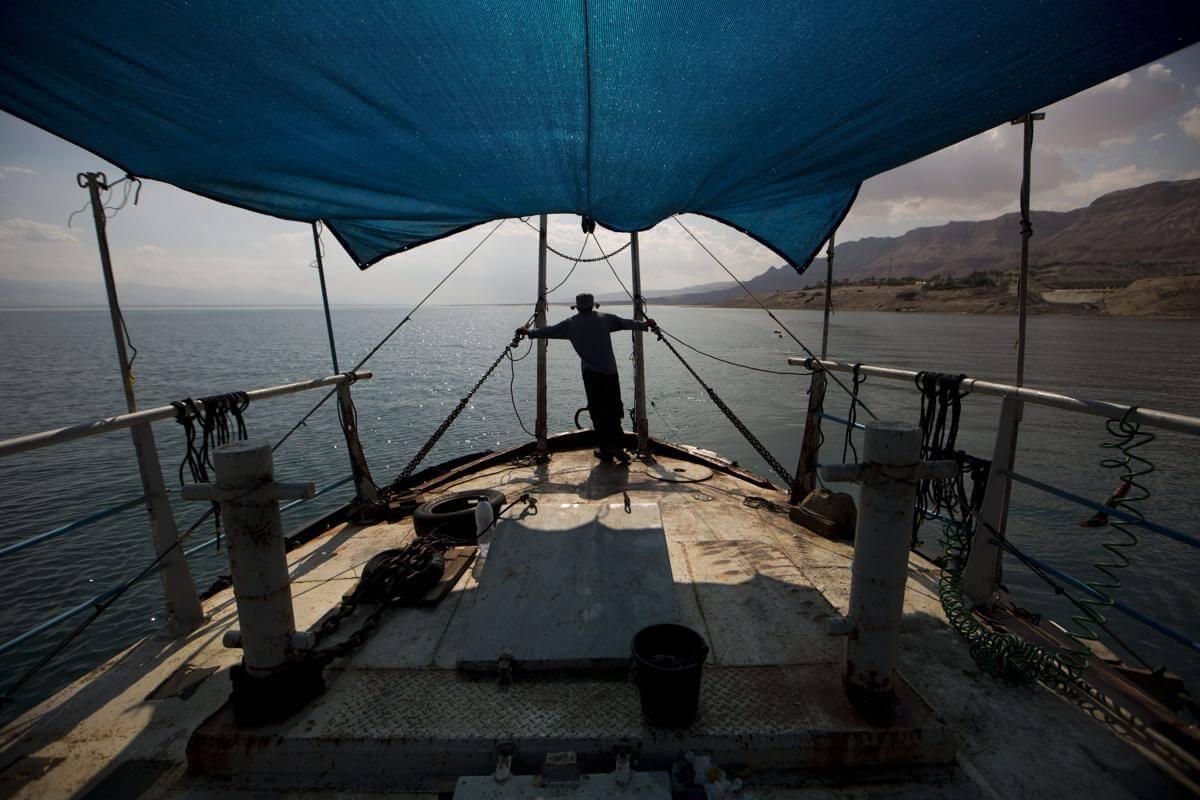 Мертвое море. Израиль. Фото № 3