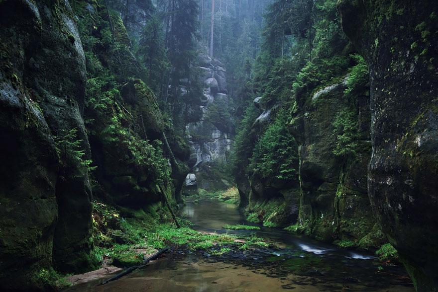 Пейзажи в стиле сказок братьев Гримм. Фото № 4