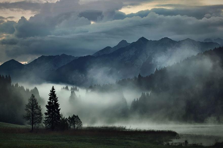 Пейзажи в стиле сказок братьев Гримм. Фото № 7