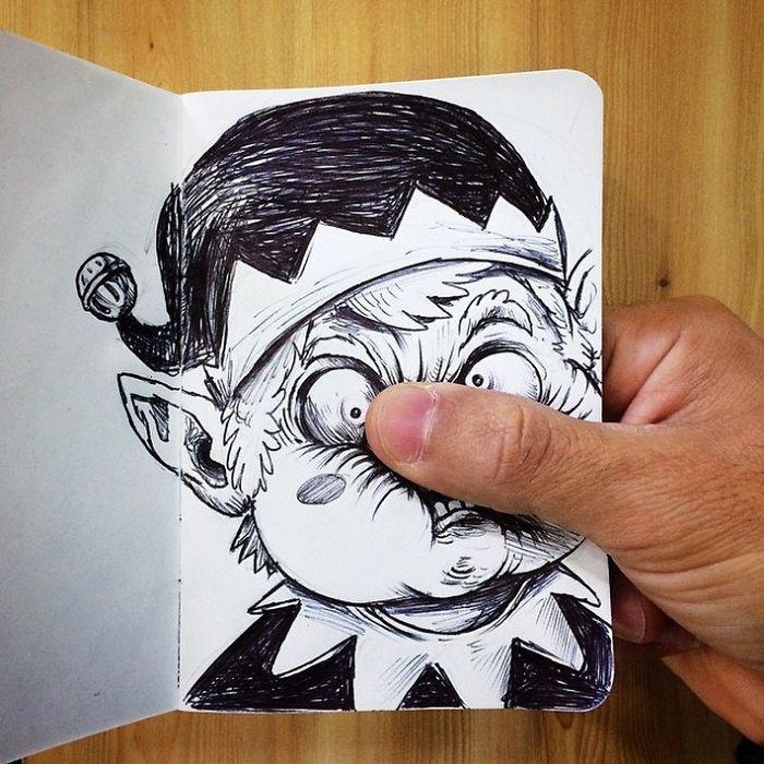Забавные иллюстрации. Как подраться с картинкой. Фото № 11