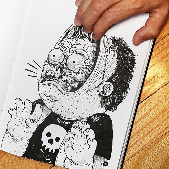 Забавные иллюстрации. Как подраться с картинкой. Фото № 13