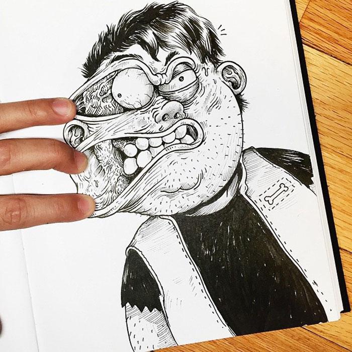 Забавные иллюстрации. Как подраться с картинкой. Фото № 15