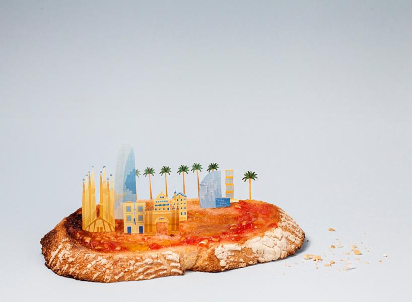Города из еды. Фото № 1