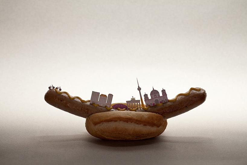 Города из еды. Фото № 11