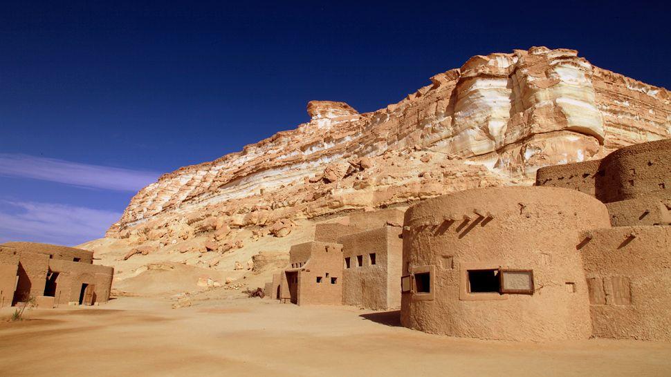 Туризм, отдых, оазис, пустыня. Фото № 10