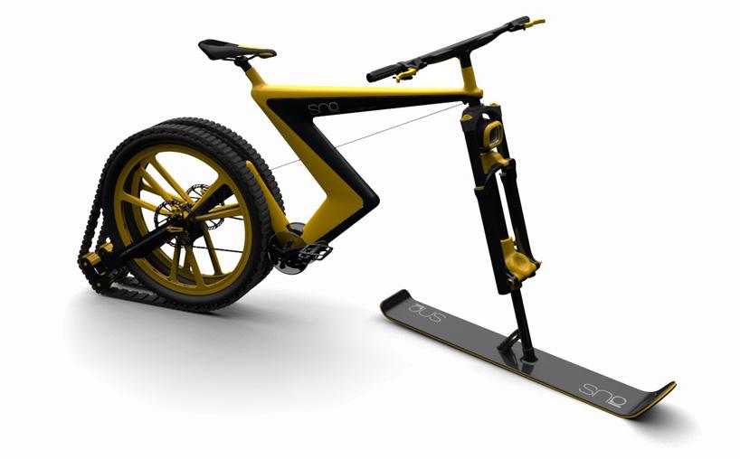 Велосипед для зимы. Фото № 3
