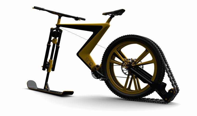 Велосипед для зимы. Фото № 5
