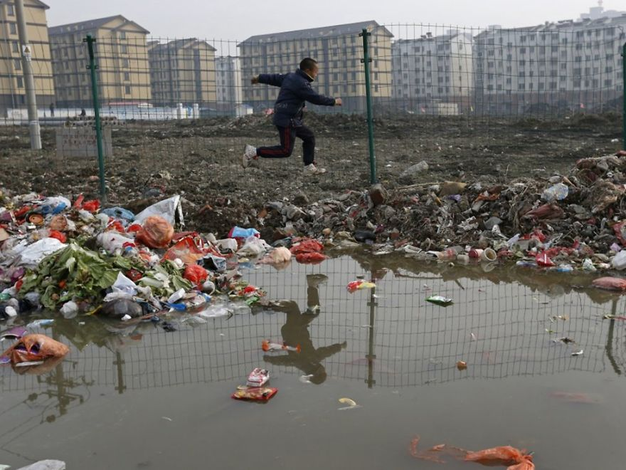 Загрязнение Китая. Шок. Фото № 11