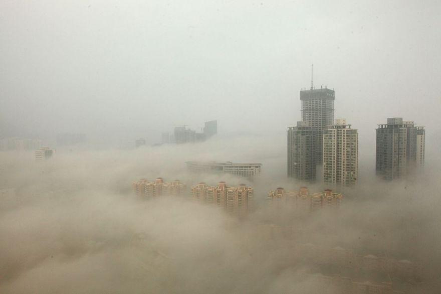 Загрязнение Китая. Шок. Фото № 12