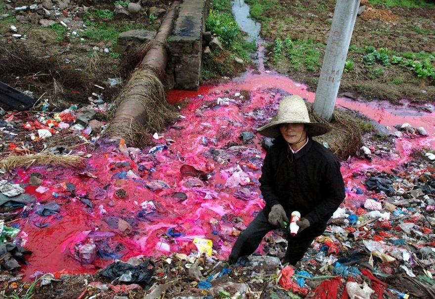 Загрязнение Китая. Шок. Фото № 13