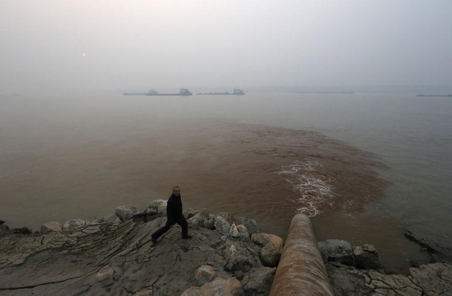 Загрязнение Китая. Шок. Фото № 14