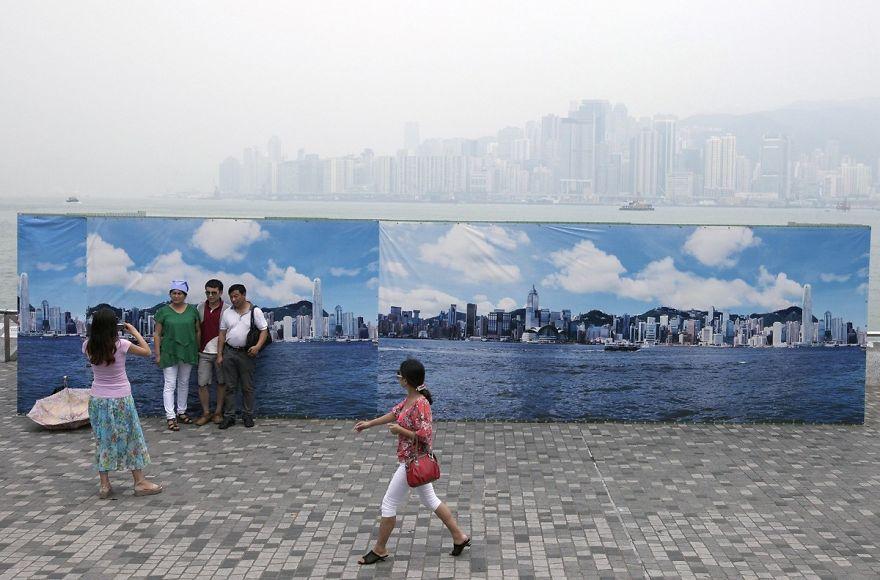 Загрязнение Китая. Шок. Фото № 16