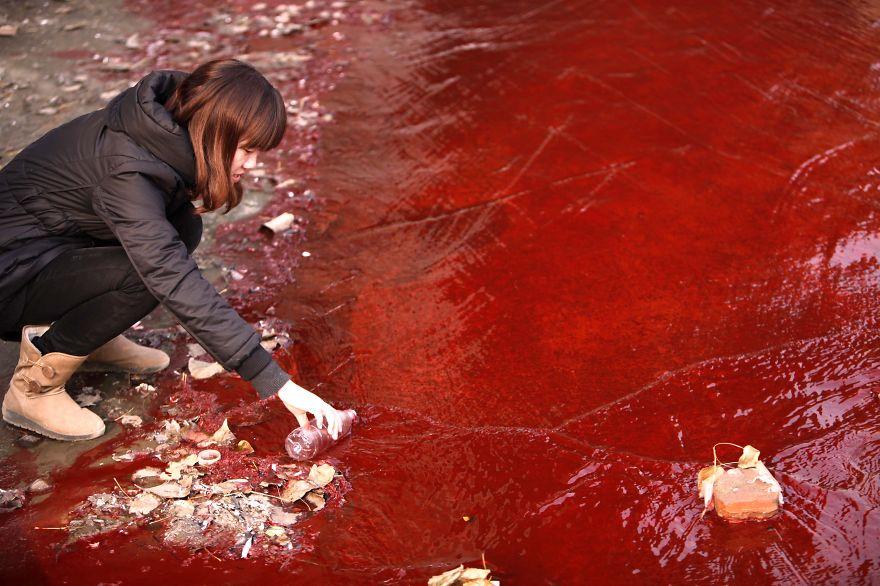 Загрязнение Китая. Шок. Фото № 2