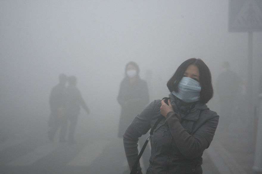 Загрязнение Китая. Шок. Фото № 5