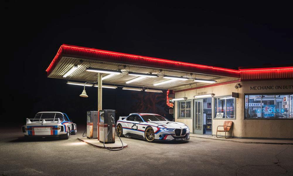 BMW 3.0 CSL Hommage R. Фото № 6