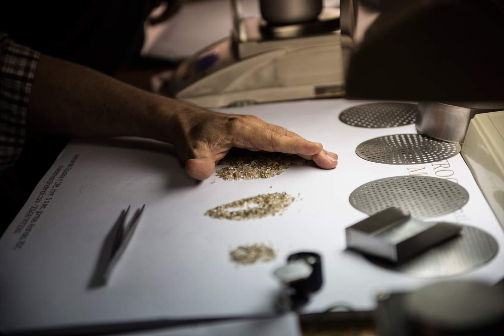 Добыча алмазов в Демокартической Республике Конго. Фото № 1