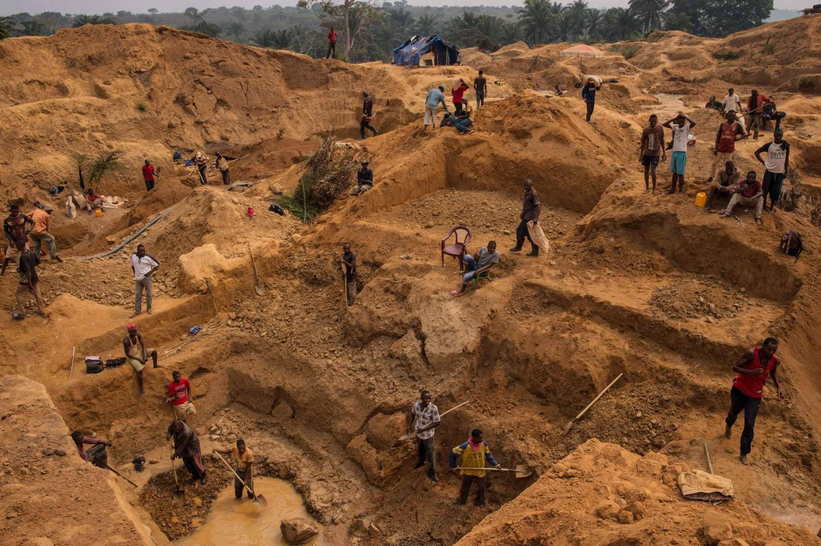 Добыча алмазов в Демокартической Республике Конго. Фото № 10