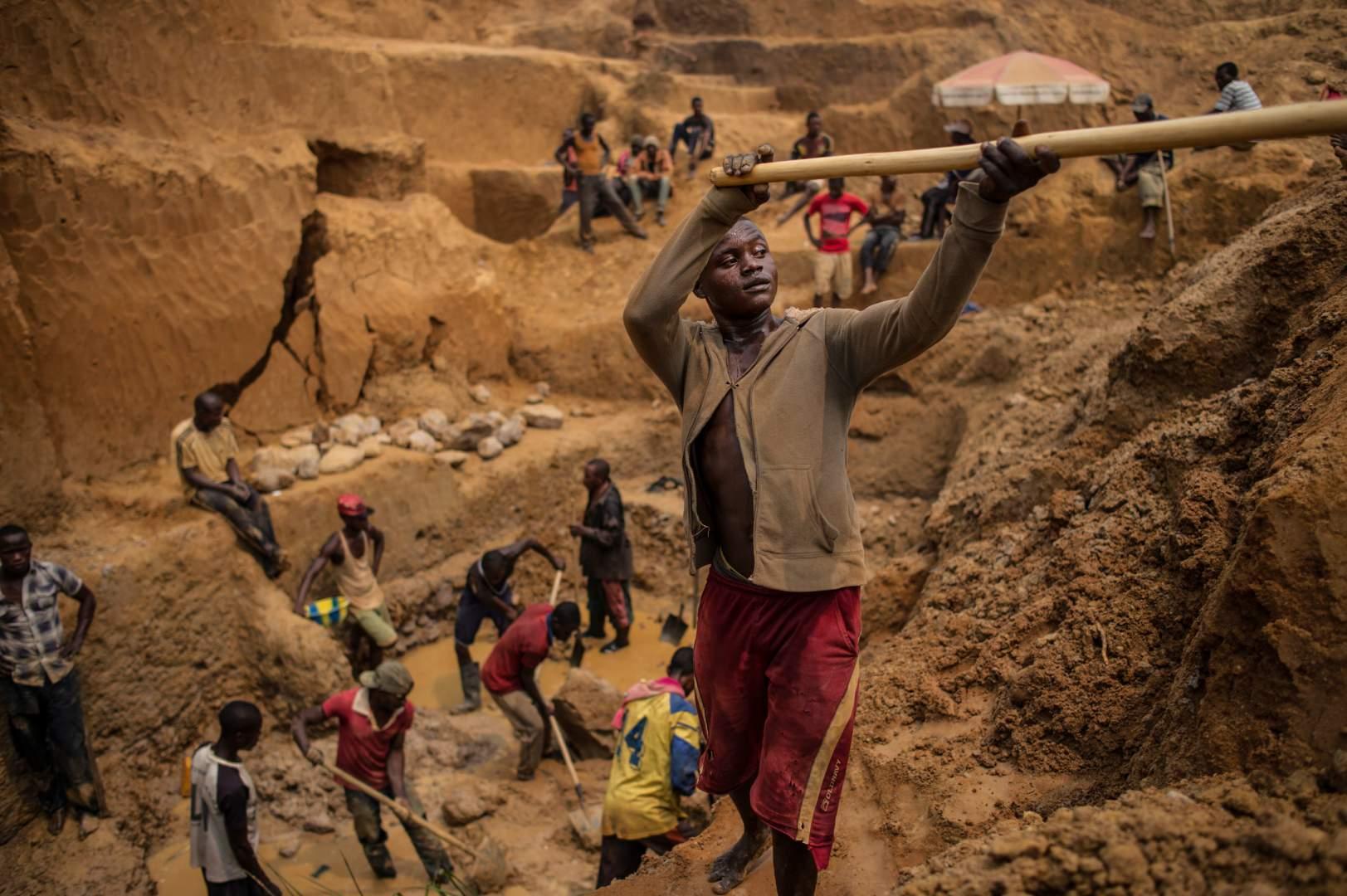Добыча алмазов в Демокартической Республике Конго. Фото № 11