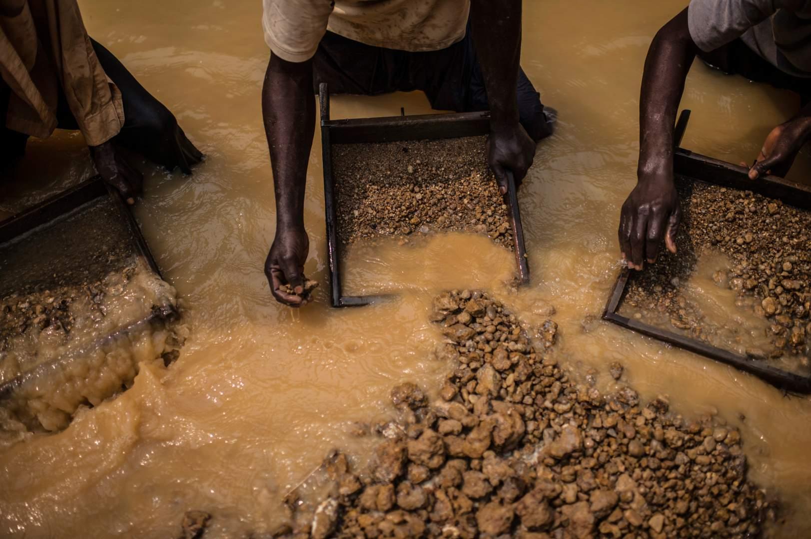 Добыча алмазов в Демокартической Республике Конго. Фото № 12