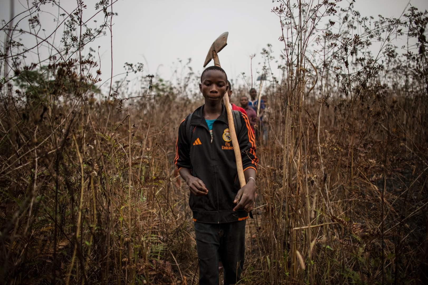 Добыча алмазов в Демокартической Республике Конго. Фото № 14