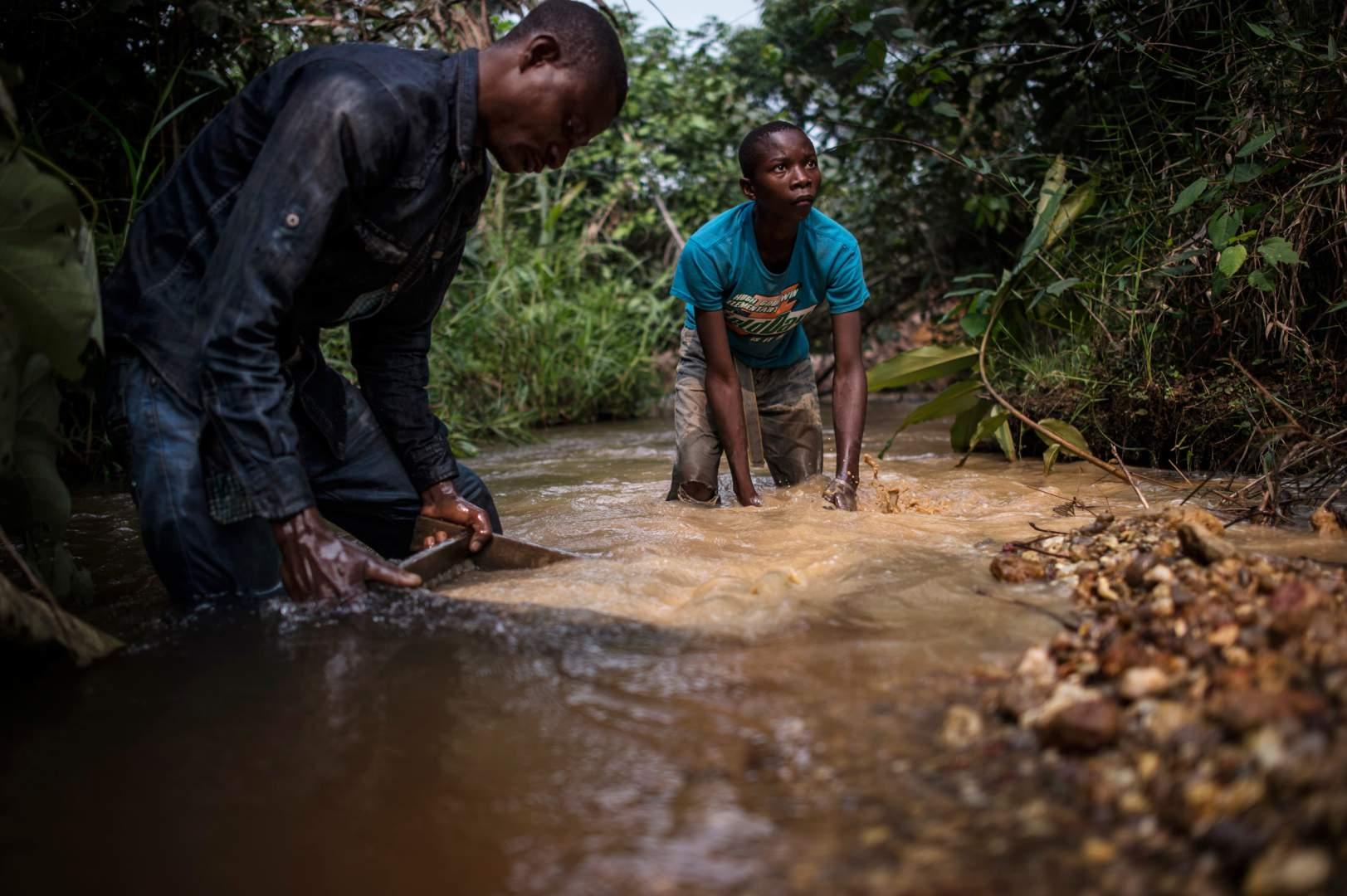 Добыча алмазов в Демокартической Республике Конго. Фото № 15