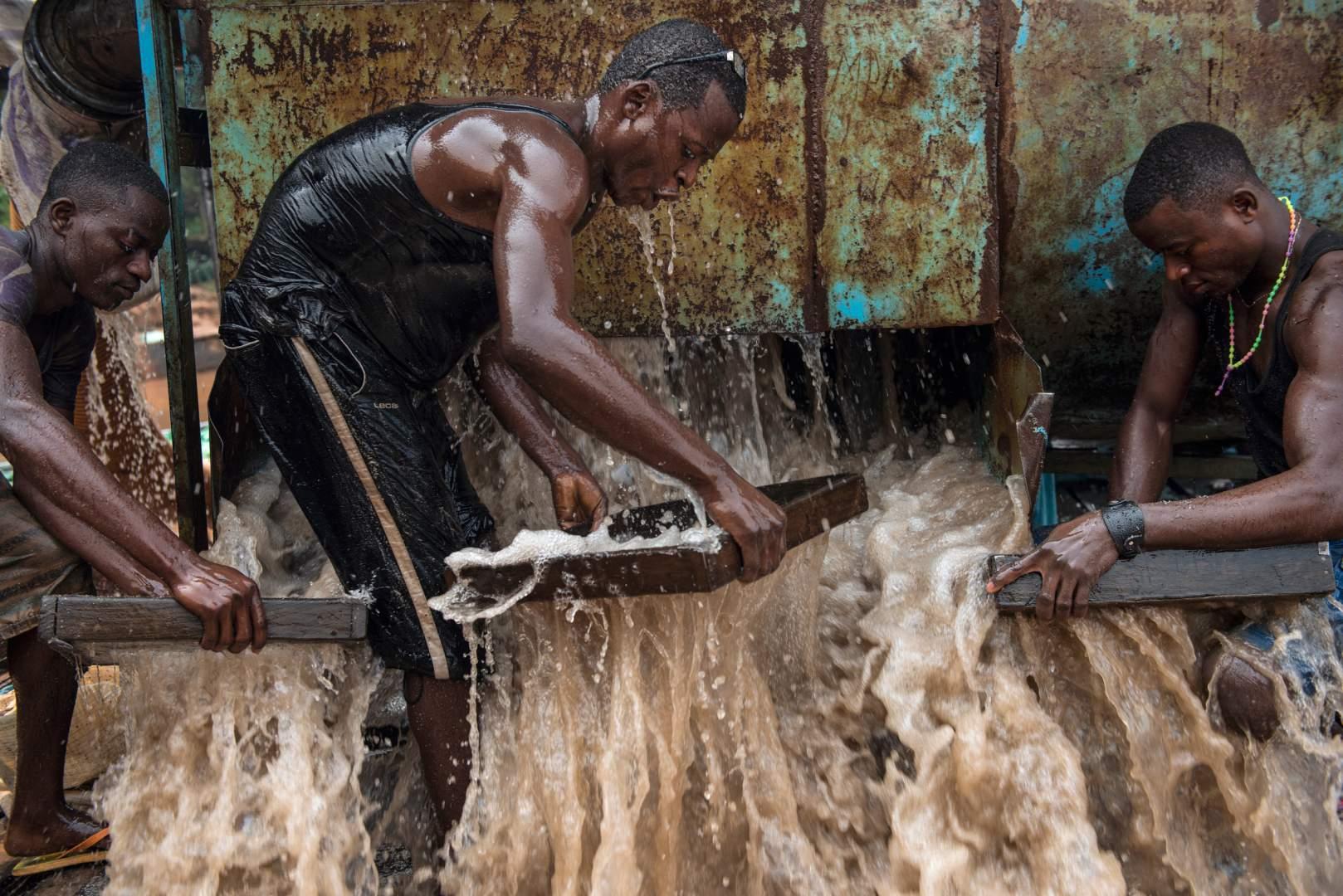 Добыча алмазов в Демокартической Республике Конго. Фото № 2