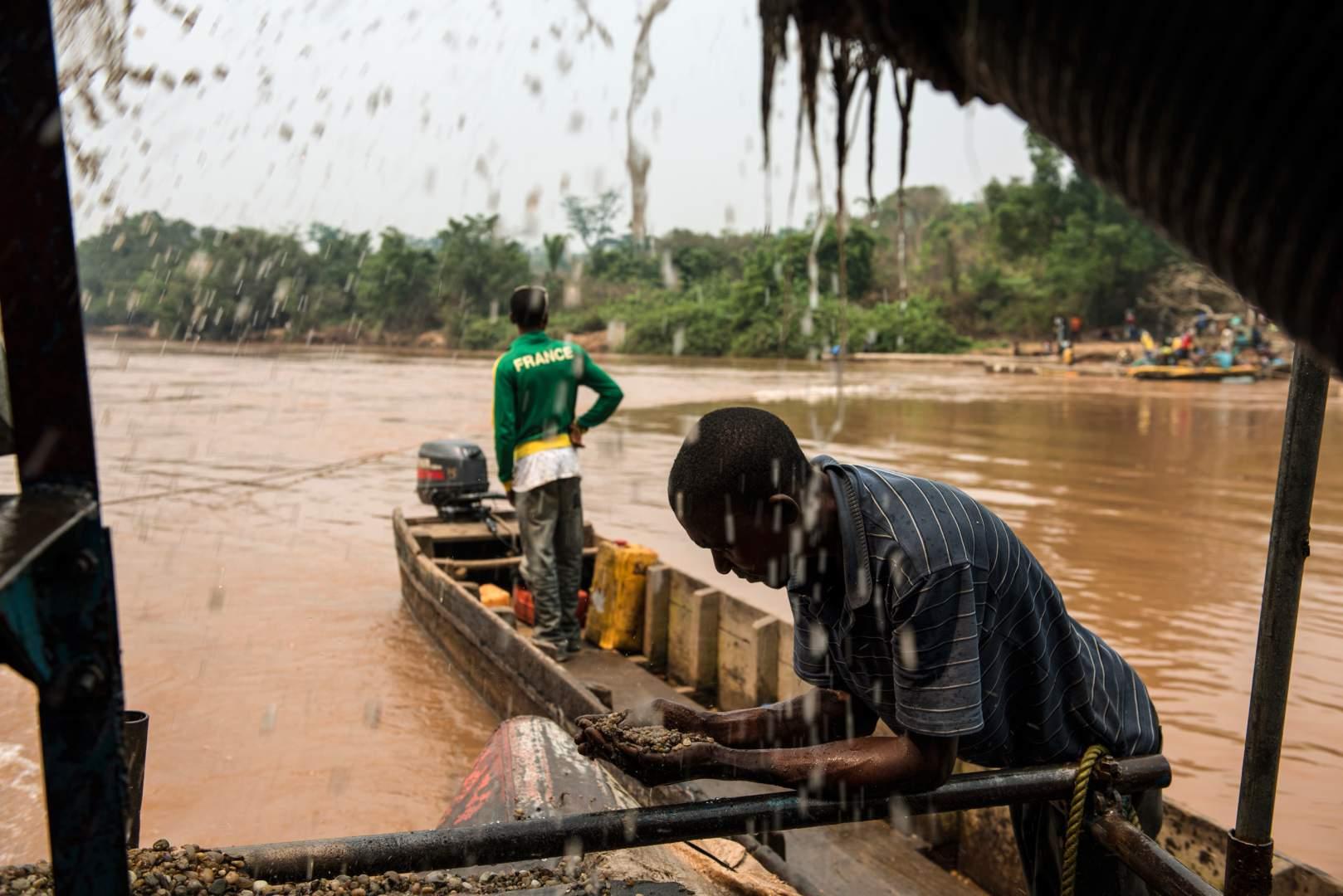 Добыча алмазов в Демокартической Республике Конго. Фото № 3