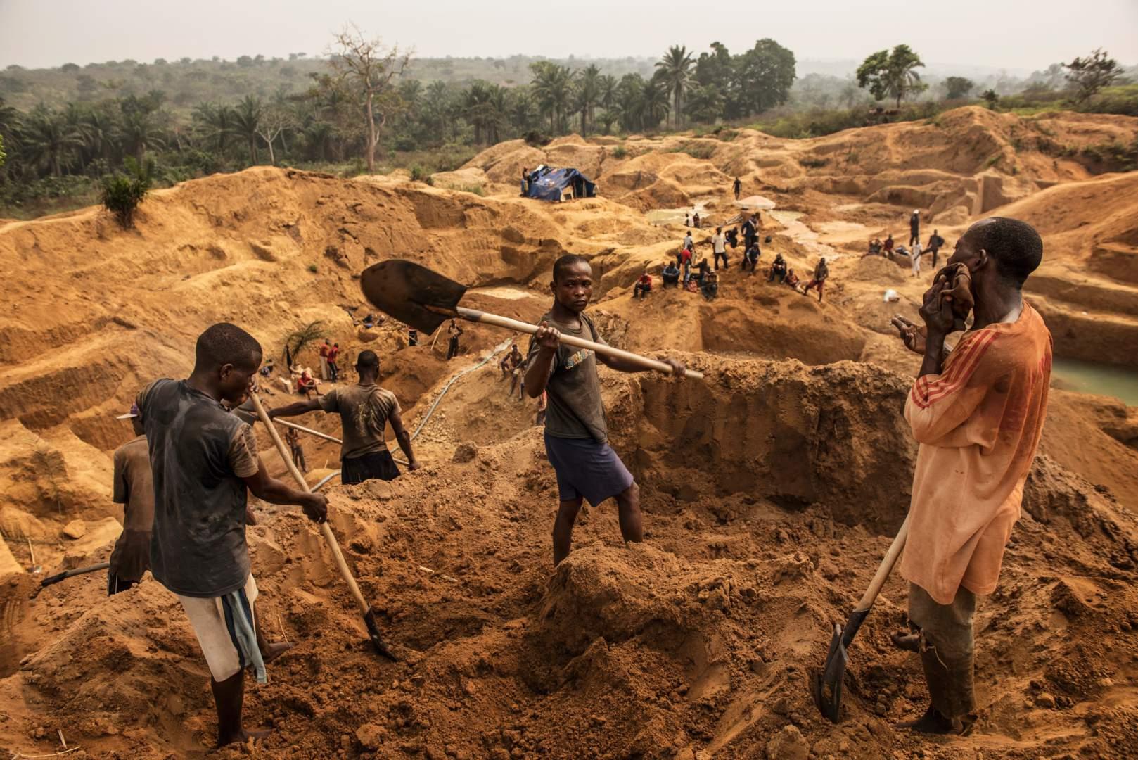 Добыча алмазов в Демокартической Республике Конго. Фото № 7
